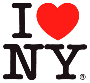 "Milton Glaser. Lototipo ""I Love New York"""